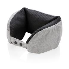 Роскошная подушка для путешествий Microbead, серый фото