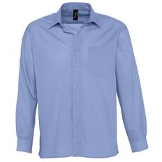 Рубашка мужская Sol's Baltimore, васильковый фото