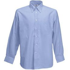 Рубашка Long Sleeve Oxford Shirt, голубой фото