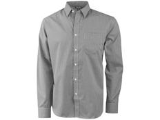 Рубашка с длинным рукавом мужская Slazenger Net, серая фото