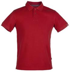 Рубашка поло мужская James Harvest Avon, красная фото