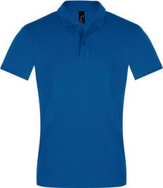Рубашка поло мужская Sol's Perfect Men 180, ярко-синяя фото