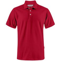Рубашка поло мужская James Harvest Sunset, красная фото