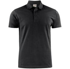 Рубашка поло мужская James Harvest Surf, черная фото
