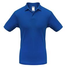 Футболка поло мужская B&C Safran, ярко-синяя фото