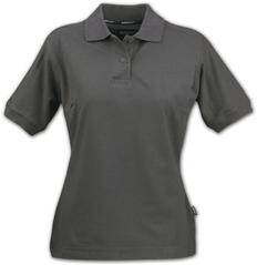 Рубашка поло женская James Harvest Semora, темно-серая фото