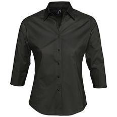 Рубашка женская Sol's Effect 140, черная фото