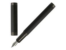 Ручка перьевая Hugo Boss Column, черная фото