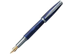 Ручка перьевая Pierre Cardin Majestic, черная / синяя фото