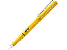 Ручка перьевая Safari, желтая фото