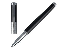 Ручка-роллер Nina Ricci Eclat Chrome, чёрная фото