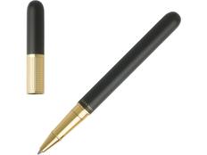 Ручка-роллер Nina Ricci Maillon, чёрная/золотая фото