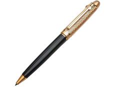 Ручка шариковая металлическая Duke Viceroy, черная / золотая фото