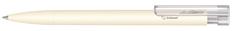 Ручка шариковая Liberty Bio с клипом, белая фото