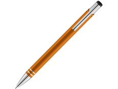 Ручка шариковая металлическая Hawk, оранжевая фото