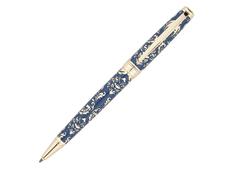 Ручка шариковая металлическая Pierre Cardin Renaissance, синяя/ золотая фото