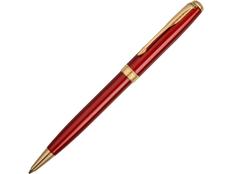 Ручка шариковая металлическая Parker Sonnet Red GT, золотая / красная фото