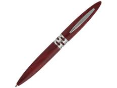 Ручка шариковая пластиковая «Мехико», бордовая фото