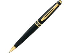 Ручка шариковая металлическая Waterman Expert 3 Black GT, черная фото