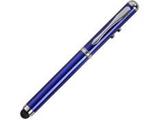 Ручка-стилус шариковая Каспер 3 в 1, синяя фото