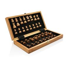 Шахматы деревянные XD Collection Luxury, коричневые фото
