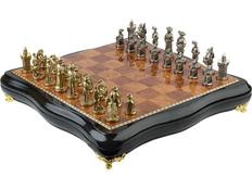 Шахматы Регент, коричневый фото