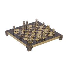Шахматы Византийская империя, черные / золотые фото