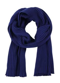 Шаль Uppercase Mono, темно-синяя фото