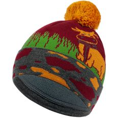 Шапка teplo Moola, разноцветная фото