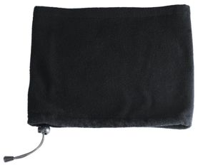 Шапка-шарф с утяжкой Sol's Blizzard, черная фото