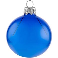 Шар елочный в коробке Gala Night, 6 см, синий фото
