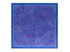 Шарф Cacharel Blossom, синий фото