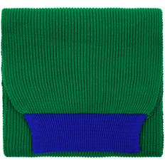 Шарф Teplo Snappy, зеленый / синий фото