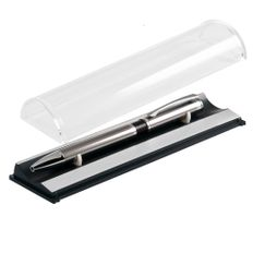 Ручка стилус в футляре Portobello iP, черная / хром фото