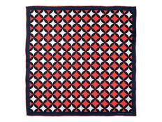 Платок шелковый Jean-Louis Scherrer Boogie, красный фото