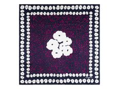 Платок шелковый Ungaro Giada Navy, фиолетовый фото