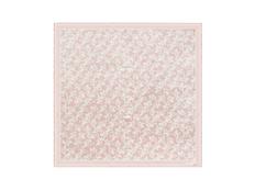 Платок шелковый Cacharel Hirondelle, светло-розовый фото