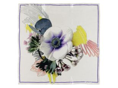 Платок шелковый Cacharel Madeleine, белый фото