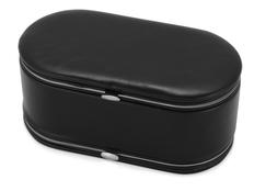 Шкатулка для драгоценностей с маникюрным набором, черный фото
