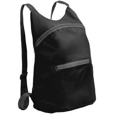 Рюкзак складной Barcelona, черный фото