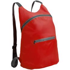 Рюкзак складной Barcelona, красный фото
