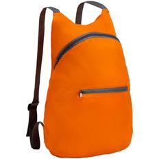 Рюкзак складной Barcelona, оранжевый фото