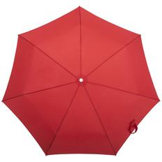 Зонт складной 3 сложения автомат Samsonite Alu Drop, 7 спиц, красный фото