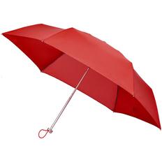 Зонт складной 3 сложения механический Samsonite Alu Drop S, красный фото