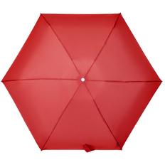 Зонт складной 4 сложения автомат Samsonite Alu Drop, 6 спиц, красный фото