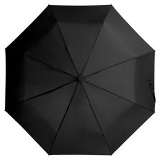 Зонт складной механический Unit Basic, черный фото