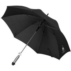 Зонт трость смарт (умный) Jonas, черный фото