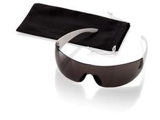 Очки солнцезащитные Sunscreen, черный, белый фото