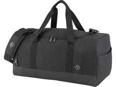 Спортивная сумка Peak 21,5, чёрная, из переработанных материалов фото