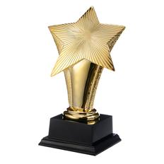 Статуэтка наградная Звездный час, золотой фото